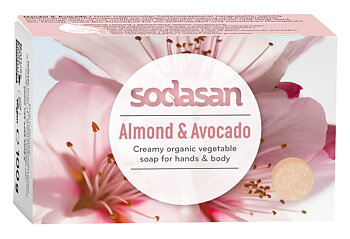 Mandel & Avokado ekologisk Tvål 100 g - SODASAN