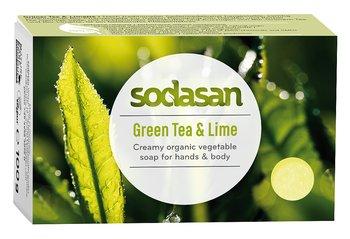 Grönt Te & Lime ekologisk Tvål 100 g - SODASAN