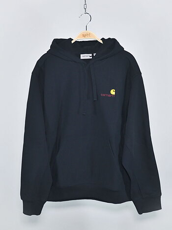 Carhartt - Hooded American Script Black