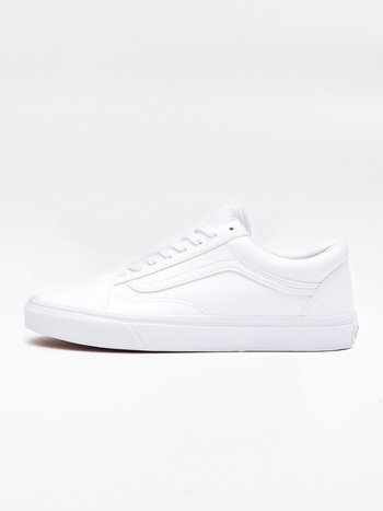 Vans - Tumble Old Skool True White
