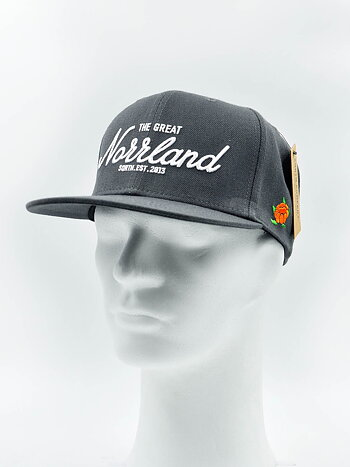SQRTN - Great Norrland Snapback Charcoal