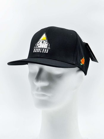 SQRTN - Triangle Snapback Black