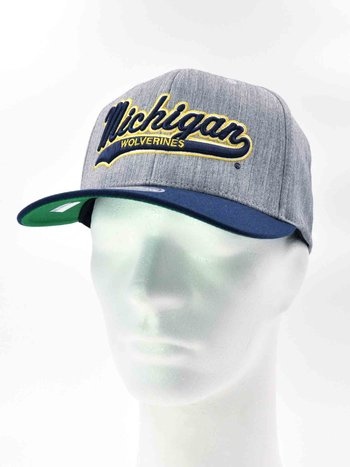 Mitchell & Ness - University of Michigan Grå/Mörkblå