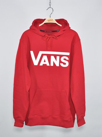Vans - Classic Pullover Hood High Risk Red