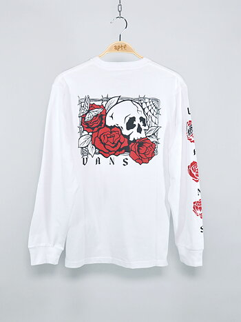 Vans - Rose Bed LS White