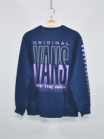 Vans - Off The Wall Classic Graphic LS Dress Blues