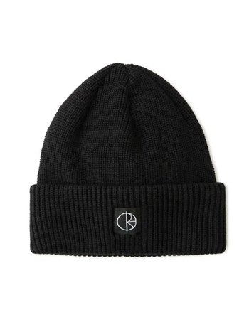 Polar - Double Fold Merino Beanie Black