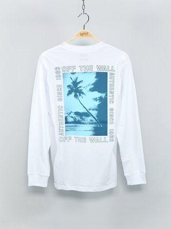 Vans - Moonstone Beach LS White