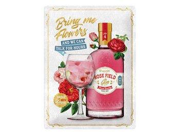 Nostalgi-Art Plåtskylt 30x40cm  Pink Gin