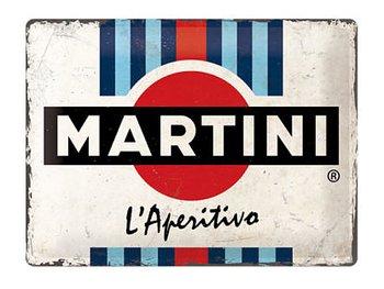 Nostalgi-Art Plåtskylt 30x40cm  Martini logo