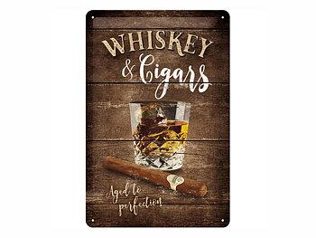 Nostalgi-Art Plåtskylt 20x30cm     Whiskey