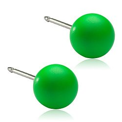 Natural Titanium NT Pearl 6mm ELECTRIC GREEN
