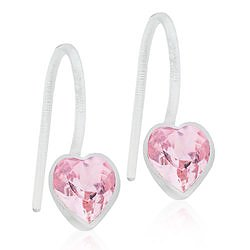 Blomdahl Medical Plastic MP PENDANT FIXED HEART 6 MM, LIGHT ROSE