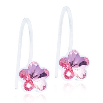 Blomdahl Medical Plastic MP PENDANT FIXED FLOWER 6 MM, LIGHT ROSE
