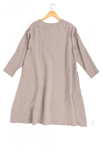 Natural - linen dress -  Piata
