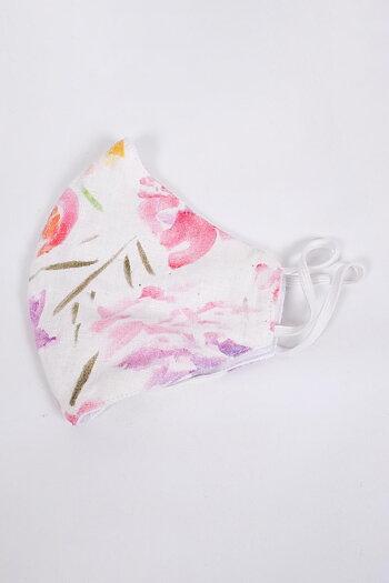 Face Mask - pink floral