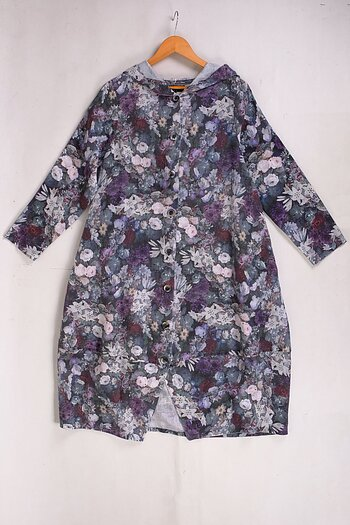 Bitta - linen coat
