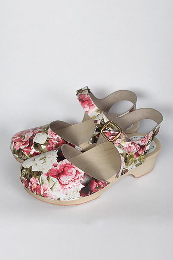 Rita - wooden sandals - peonny