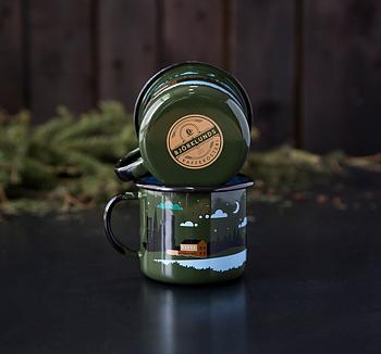 Björklunds Enamelware Mug