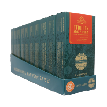 Coffee capsules 10pack Etiopien