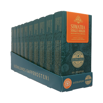 Coffee capsules 10pack Sumatra