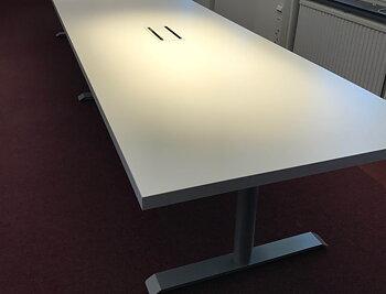Konferensbord rakt 4600x1000x36 mm