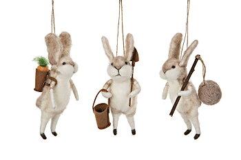 Kommer i mars Ulldjur Hängande Kanin