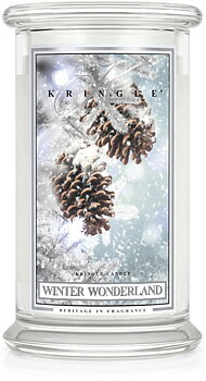 Kringle Candle Winter Wonderland 2-Vekar Large Jar