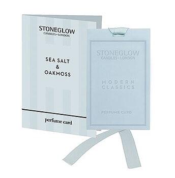 Stoneglow Modern Classics  -  Seasalt & Oakmoss Doftkort
