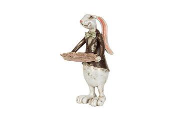 Kaninpojke med fat