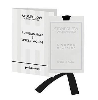 Stoneglow Modern Classics  - Pomegranate & Spiced Woods Doftkort