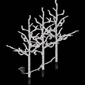 Dekorationsträd 3 -set Björk