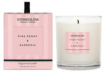 Stoneglow Modern Classics  - Pink Peony & Gardenia Ljus