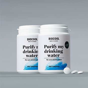Purify my drinking water, 250 tbl - 2-pack