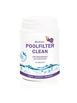 Poolfilter Clean, 50 tabl