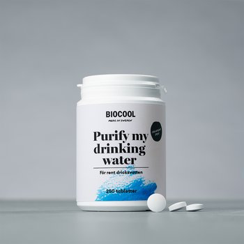 Purify my drinking water, 250 tbl