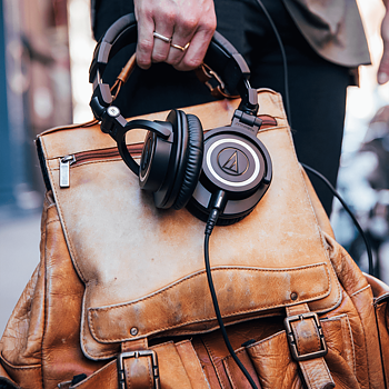 Audio Technica ATH-M50X Black Studiohörlurar