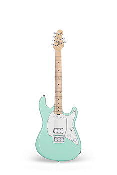 Sterling By Music Man, Cutlass Short Scale CTSS30HS, Mint Green