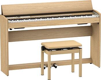 Roland F701-LA Light Oak Digitalt Piano