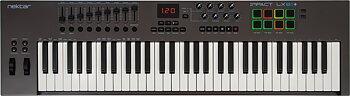 Nektar Impact LX61+ - 61-tangenters USB-klaviatur med reglar, rattar & pads