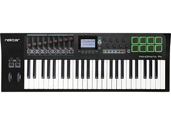 Nektar Panorama T4 - 49-tangenters USB-klaviatur med reglar, rattar & pads