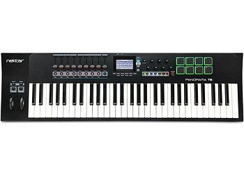 Nektar Panorama T6 - 61-tangenters USB-klaviatur med reglar, rattar & pads