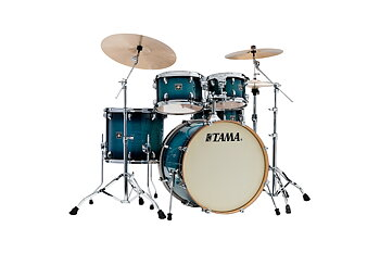 TAMA, CL52KRS-BAB, Superstar Classic MA 5-del Shell-kit, Blue Laquer Burst
