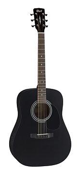 Cort AD810 | BLACK SATIN Dreadnought Akustisk gitarr