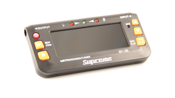 Supreme ST-35 | TUNER AND METRONOME Guitar/Bass Tuners