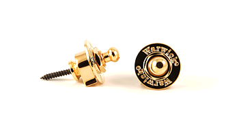Supreme STRAP LOCK SET | GOLD Miscellaneous Guitar Accessories