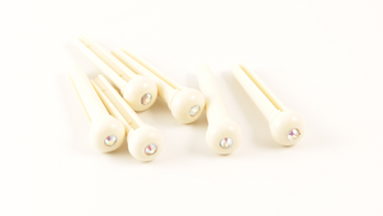 Supreme STRING PIN 6-PACK | IVORY Acoustic Guitar Accessories