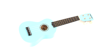 Supreme UKULELE | LIGHT BLUE Soprano Ukuleles