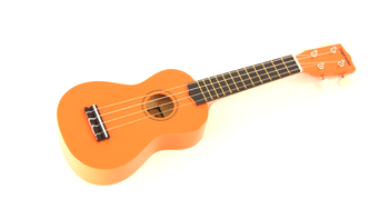 Supreme UKULELE | ORANGE Soprano Ukuleles