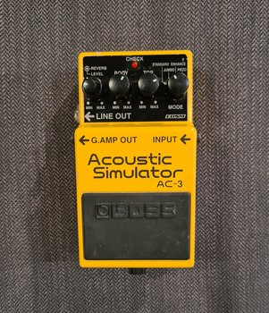 (Begagnad) BOSS AC-3 Acoustic Simulator